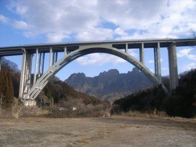 上信越自動車道遠入川橋