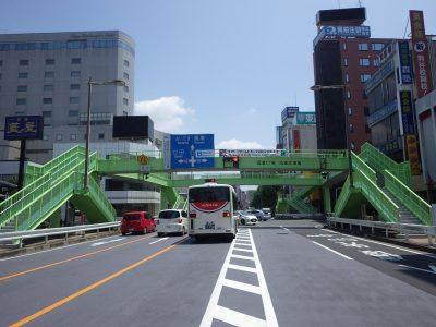 筑波一丁目歩道橋