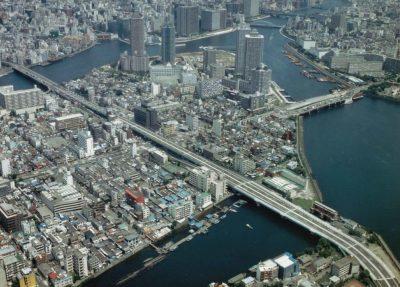 佃大橋・新月陸橋・朝潮大橋